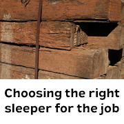 Choosing the right sleepers
