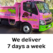We deliver 7 days