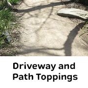 Driveway and Path Toppings available at BAAG