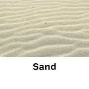Sand available at BAAG