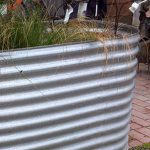 Galvanised Garden Beds